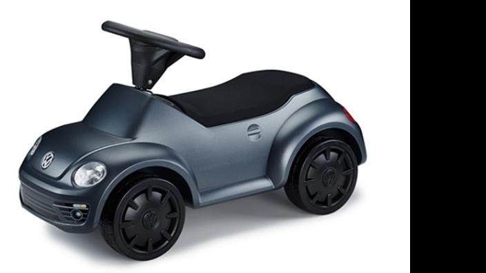 Volkswagen Junior Beetle Rutschauto, grau