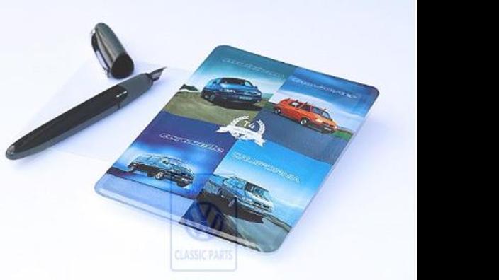 Volkswagen Classic Parts Blechpostkarte T4