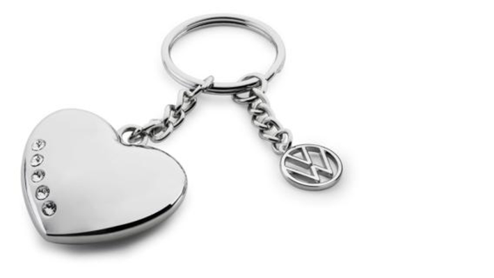 Přívěsek na klíče - srdce