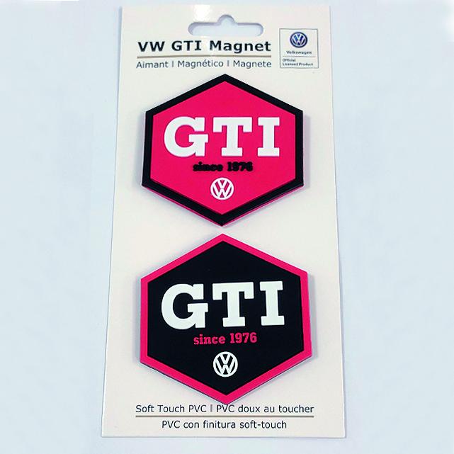Original VW GTI Set Schnullerband mit zwei VW GTI Schnuller