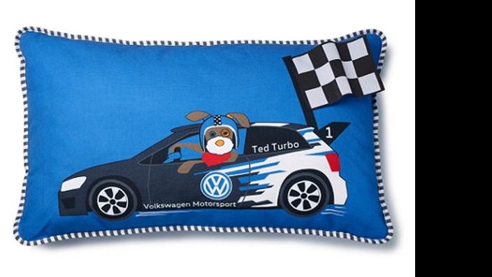 Volkswagen Kinder Kissen im Motorsport Design