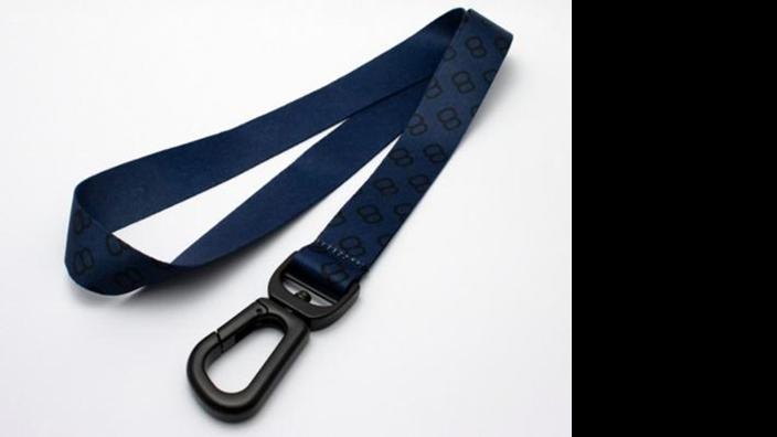 Volkswagen Schlüsselband Golf 8, dunkelblau