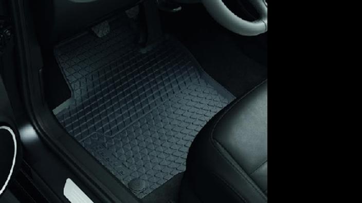 Volkswagen Allwetterfußmatten hinten