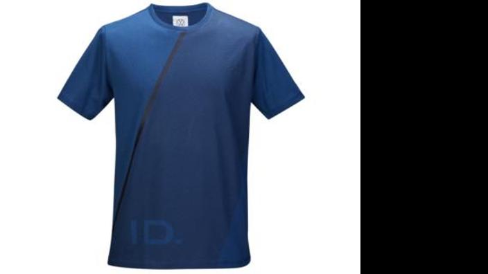 Volkswagen Herren T-Shirt, Gr. XXL, dunkelblau, ID Kollektion