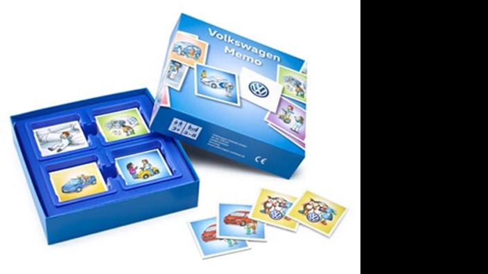 Volkswagen Kinder Memory Spiel