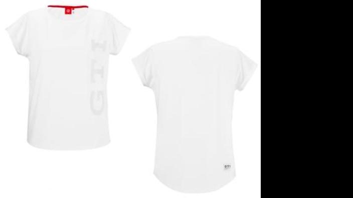Volkswagen GTI Damen T-Shirt weiß, Gr. XS