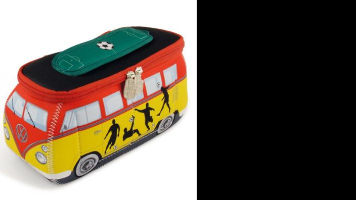 """Volkswagen Bulli 3D Neopren Mäppchen """"Fußball"""""""