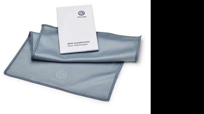 VW Mikrofasertuch für Touchdisplays