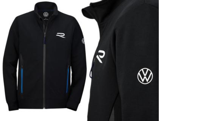 Volkswagen R Herren Sweatjacke, Gr. L