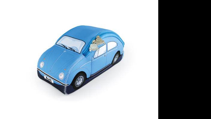 Volkswagen Käfer Universaltasche Neopren, hellblau