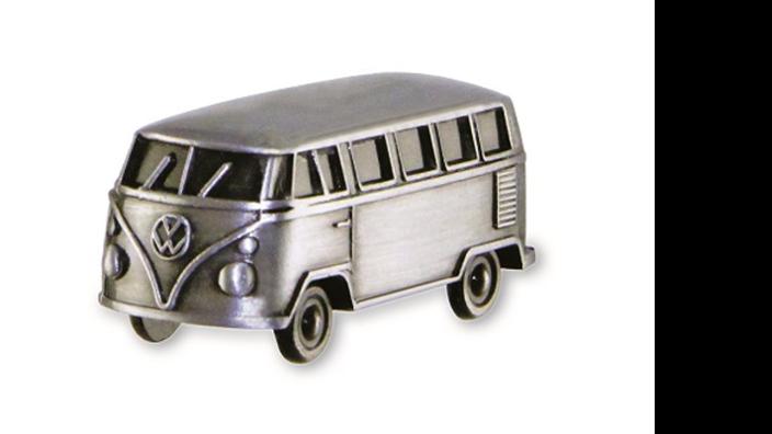 Volkswagen Bulli 3D Mini Modell mit Magnet