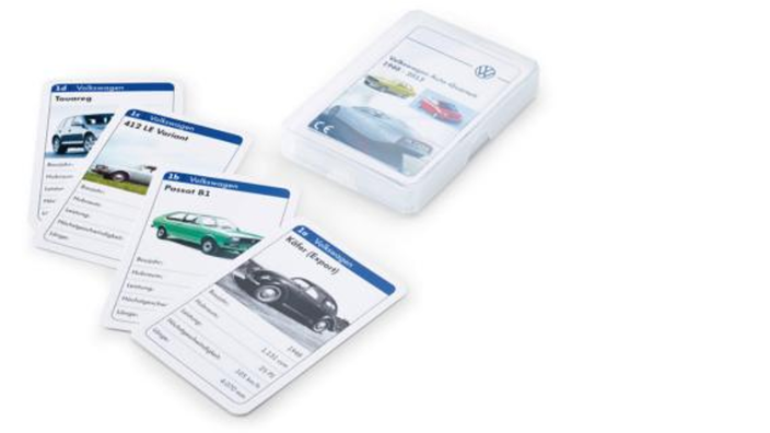 Volkswagen Kartenspiel, Quartett