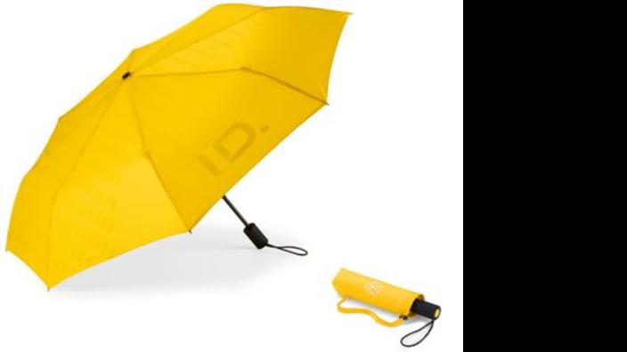 VW Schirm, ID Kollektion, vollautomatisch, gelb