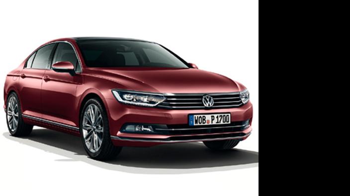 Volkswagen Passat Limousine Modellfahrzeug 1:43
