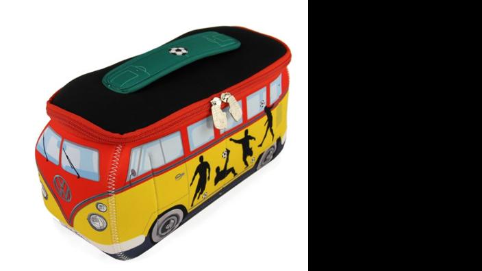 """Volkswagen Bulli 3D Neopren Universaltasche """"Fußball"""""""