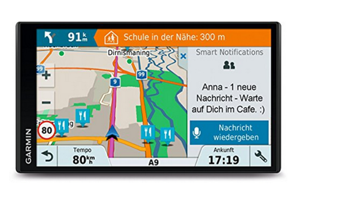 Garmin DriveSmart Navigationsgerät mit 46 Ländern