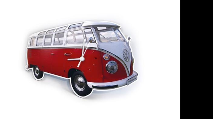 Volkswagen Bulli Wanduhr