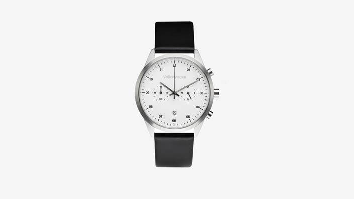 Volkswagen Chronograph, schwarz/weiß