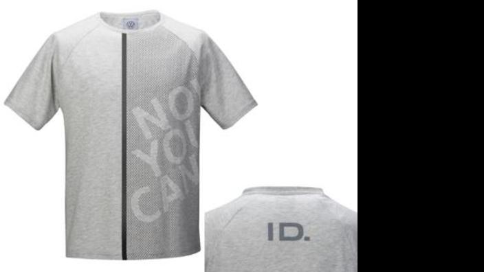 Volkswagen Herren T-Shirt, Gr. M, grau, ID Kollektion