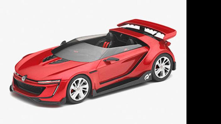 Volkswagen GTI Roadster Wörthersee 2014 Modellfahrzeug 1:43
