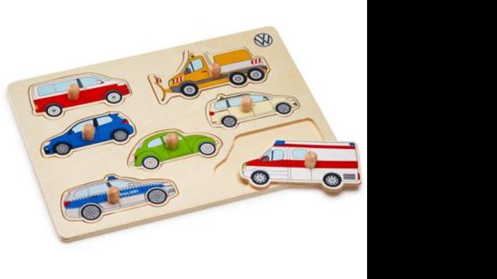 Volkswagen Holz Puzzle für Kinder
