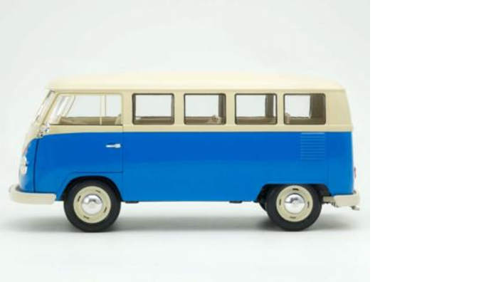 Volkswagen Bulli Modellfahrzeug, 1:18