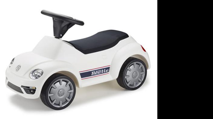 Volkswagen Junior Beetle Rutschauto, weiß