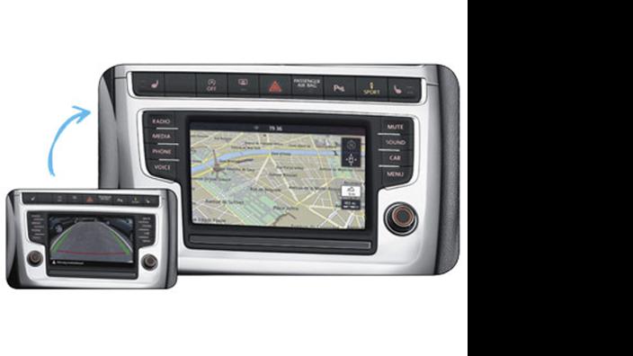 Volkswagen Navigationsnachrüstung