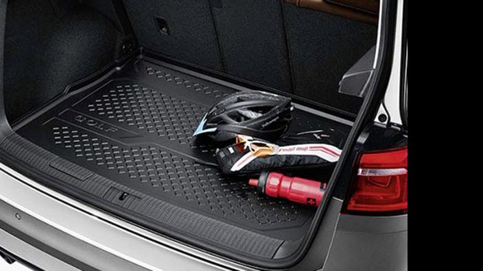 Volkswagen 5qa061161/Kofferraum Tablett schwarz