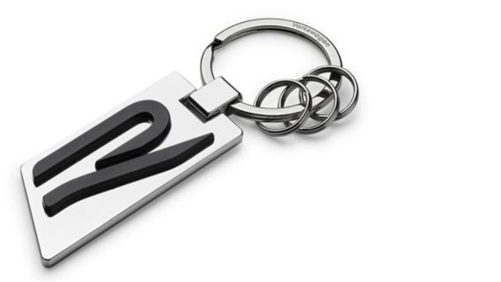 """Volkswagen Schlüsselanhänger """"R"""""""