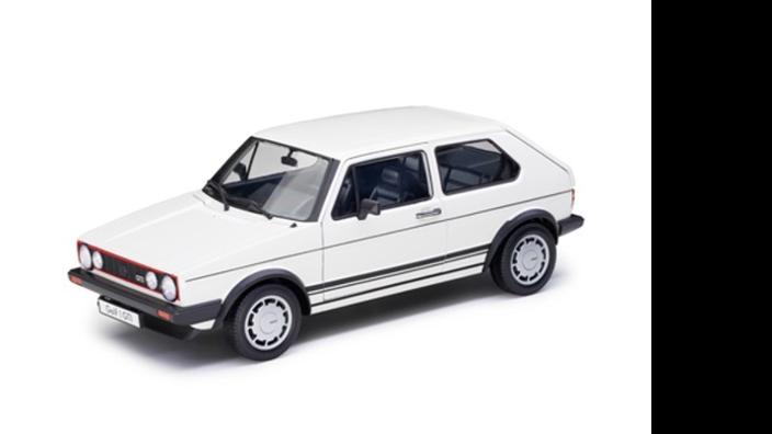 Volkswagen Pirelli Golf 1 GTI Modellfahrzeug 1:18