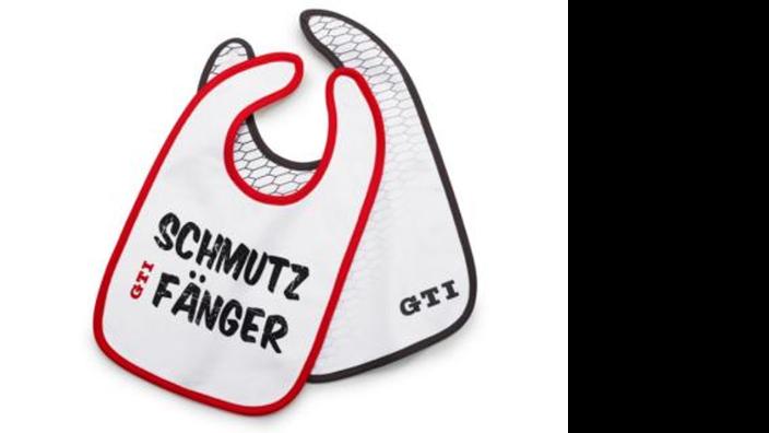 """Volkswagen GTI Lätzchen """"Schmutzfänger"""""""
