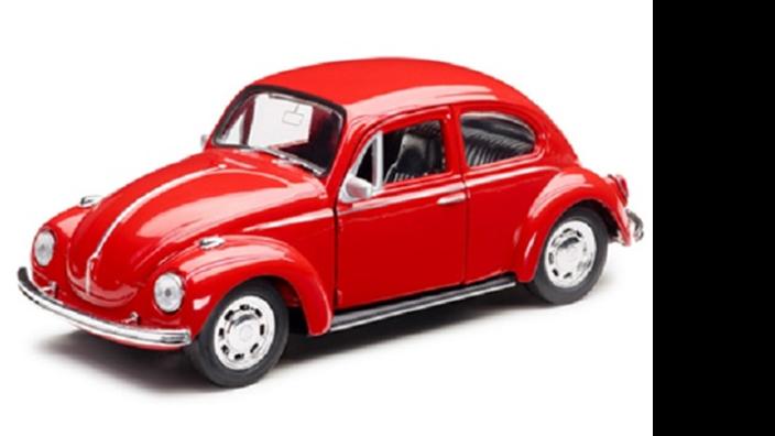 Volkswagen  Spielzeugauto mit Rückziehfunktion
